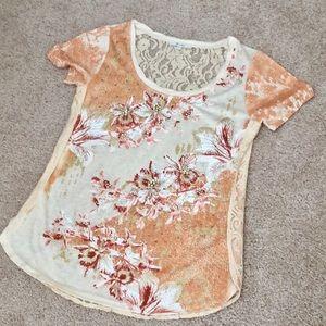 NWOT Miss Me embellished top